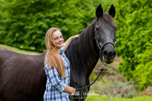 Horse and rider photograph